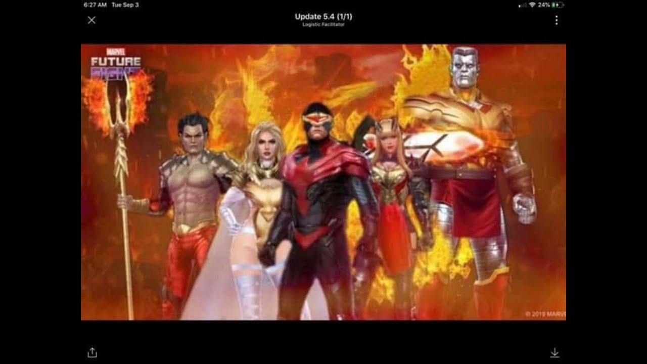 September X,Men Update? Phoenix 5 Uniforms (Fan,Art) Namor/Emma  Frost/Cyclops , Marvel Future Fight