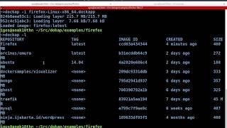 Running Docker GUI Application with Dockap