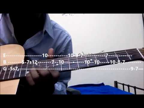 Yamaha Nagari - choodalani vundi | Guitar Tabs and Chords Lesson for Beginners