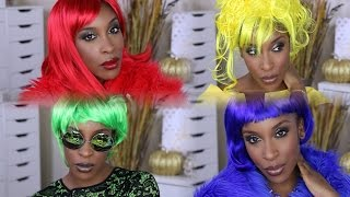 DIY LAST MINUTE HALLOWEEN IDEAS 2015! Lil Kim Crush on You | Jackie Aina