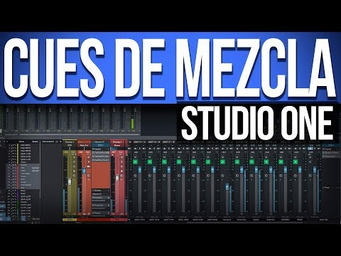 Auriculares en Studio One | Cues de Mezcla