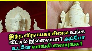 இந்த விநாயகர் சிலை உங்க வீட்டில் இல்லையா ? Vellerukku Vinayagar | Astrology in Tamil, Horoscope