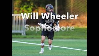 Will Wheeler Class of 2020 (Villanova Commit) Sophomore Lacrosse Highlights