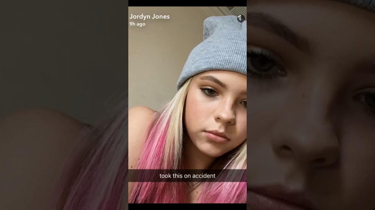 Snapchat Jordyn Jones nude photos 2019