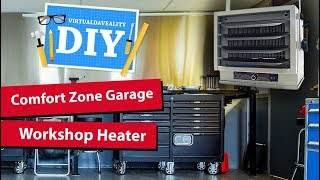 Installing a garage or workshop heater - comfort zone review of CZ220 CZ230