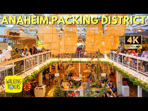 Anaheim Packing House | Upscale Food Court Near Disneyland | 4K Walking Tour