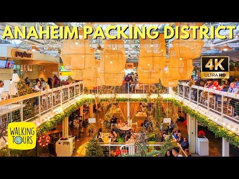 Anaheim Packing House   Upscale Food Court Near Disneyland   4K Walking Tour