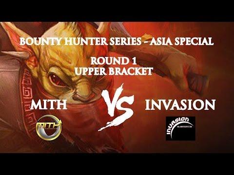 DOTA 2 - MITH.Trust vs INVASION - Cuartos - Bounty Hunter ESPECIAL ASIA - 1 - Viciuslab