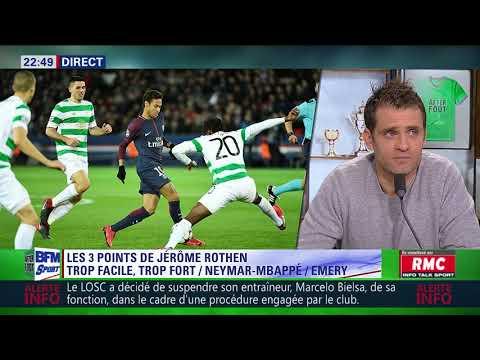 After Foot du mercredi 22/11 – Partie 1/4 - Débrief de PSG/Celtic Glasgow (7-1)