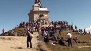 Crucea Eroilor de pe muntele Caraiman (Busteni)