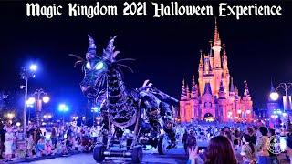 Magic Kingdom 2021 FULL Halloween Experience in 4K   Disney After Hours BOO BASH Walt Disney World