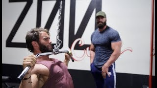 TRAINING WITH BRADLEY MARTYN, BACK DAY AT THE ZOO