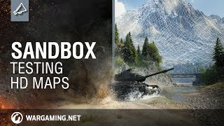 Experience HD Maps in Sandbox - World of Tanks PC