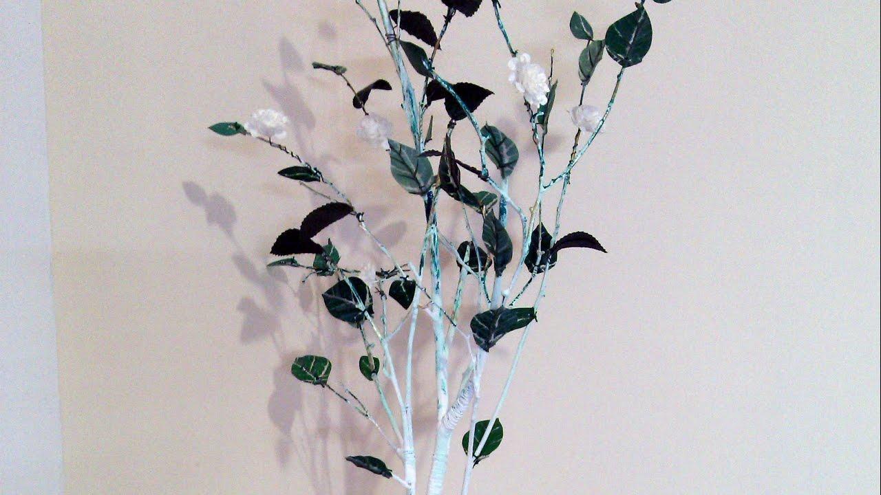Как сделать деревья для декорации своими руками