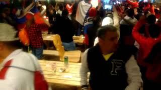 Перуанцы, которые уже приехали в Екатеринбург, сегодня болели за Россию