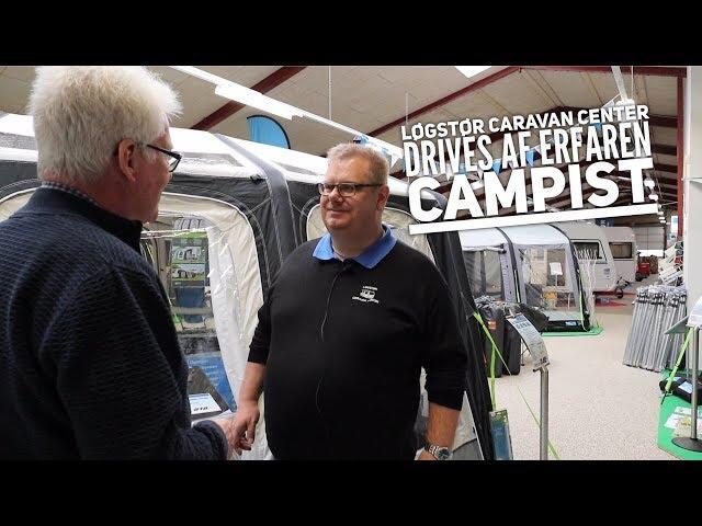 Løgstør Caravan Center drives af en erfaren campist