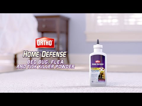 Bed Bugs Fleas And Ticks With Ortho Home Defense Powder
