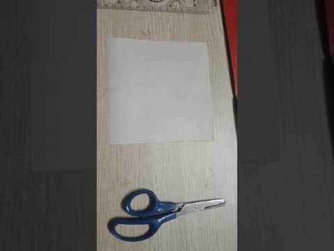 How to make Paper spinning wheel by REET VORA