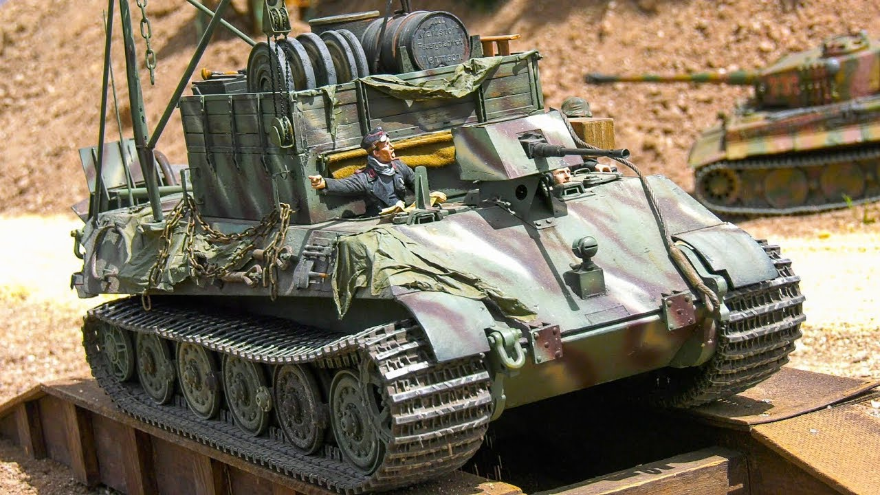 STUNNING RC MODEL SCALE TANKS, RC MILITARY VEHICLES, RC CONSTRUCTION IN  ACTION!!