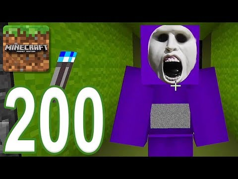 Minecraft: PE - Gameplay Walkthrough Part 200 - SlendyTubbies Classic (iOS, Android)