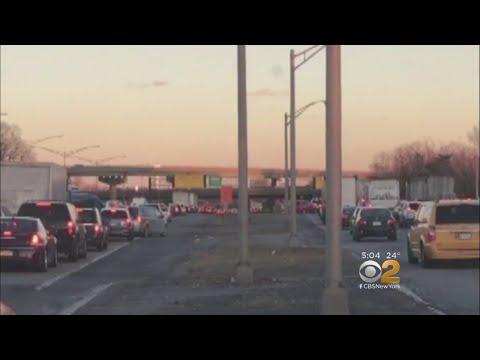 Traffic Nightmare In Newark
