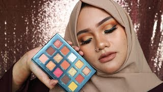 BEAUTY GLAZED SUNSET DUSK PALETTE REVIEW   EXPLORE MAKEUP FROM CHINA