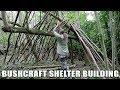 Bushcraft Shelter Building