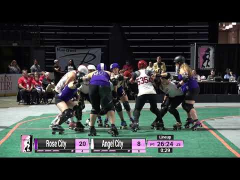 WFTDA Roller Derby - Division 1, Seattle - Game 16 - Angel City vs. Rose City