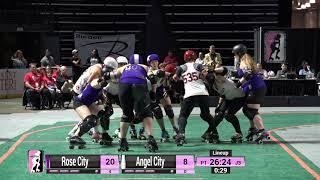 Video WFTDA Roller Derby - Division 1, Seattle - Game 16 - Angel City vs. Rose City download MP3, 3GP, MP4, WEBM, AVI, FLV September 2017