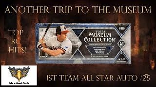 2019 Topps Museum Collection - All Star Auto /25!  Dodger Team Relic! Top Prospect RCs!