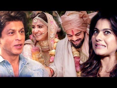 SRK Calls Anushka - Virat The Real Rab Ne Bana Di Jodi, Kajol does NOT Approve Of 'Virushka'