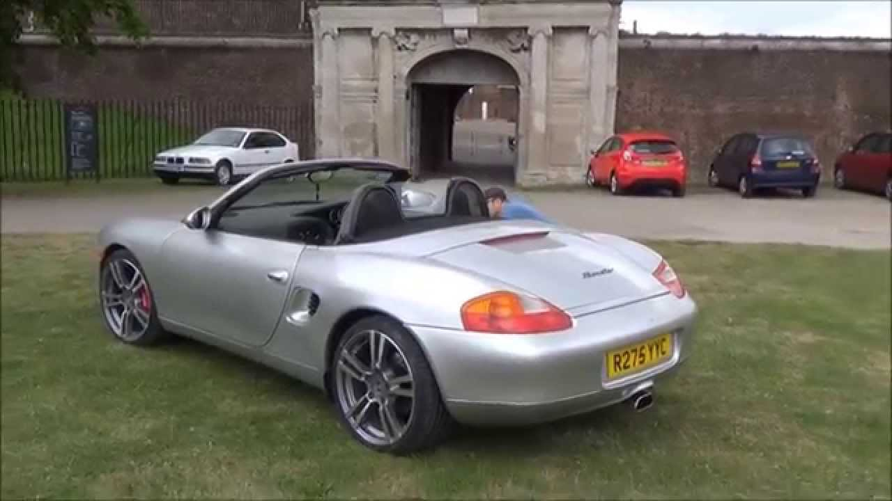 porsche boxster 986 with turbo 2 19 rim 39 s outside tilbury. Black Bedroom Furniture Sets. Home Design Ideas