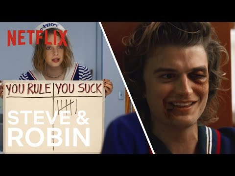 Steve En Robin's Beste Momenten | Stranger Things