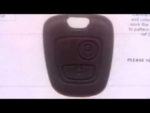 Citroen 2 Button Remote C2 & C3 After 2002 (6554RE) - SAL-CTN-NWKS48