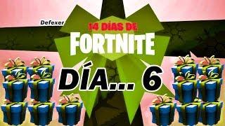 REGALO DÍA 6 DE LOS *14 DIAS DE FORTNITE* DIRECTO DE FORTNITE BATTLE ROYALE