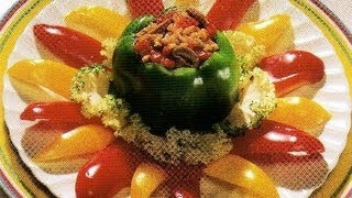 Baked Stuffed Peppers - Healthy Cooking With Jack Harris & Charles Knight