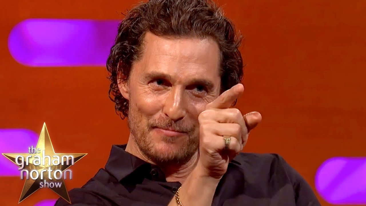 Matthew McConaughey's Mum Wants To Remake The Graduate | The Graham Norton Show