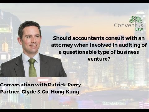 Hong Kong-Should accountants consult lawyer when auditing questionable business venture?