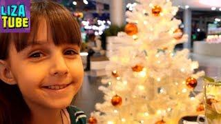 Новогодний ВЛОГ #1 Курск Батутный центр Космос МегаГРИНН Развлечения для детей