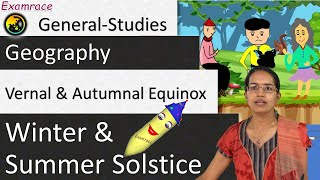 🌎 Winter and Summer Solstice; Vernal and Autumnal Equinox (Geography Basics)