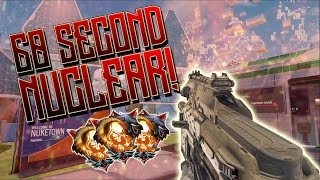 Download Video INSANE 60 SECOND NUCLEAR! MY FASTEST NUCLEAR! WEEVIL w/ DARK MATTER CAMO! Black Ops 3 (COD BO3) MP3 3GP MP4