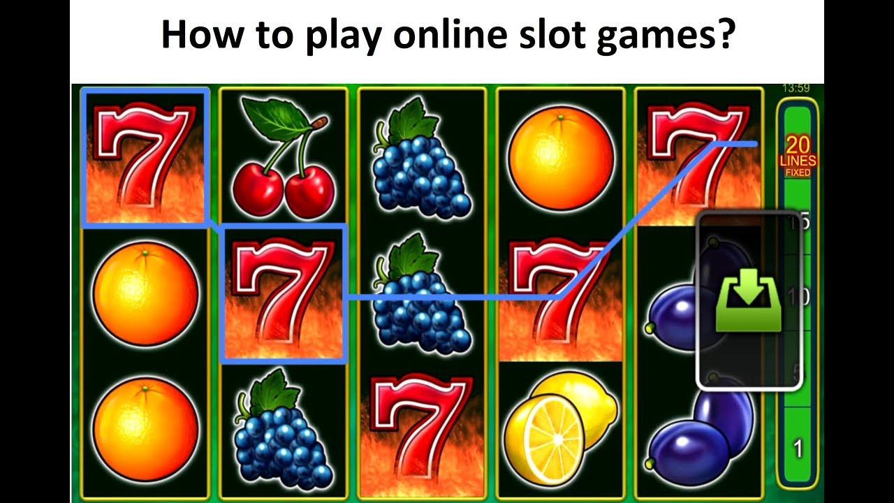 How to play online slot games - YouTube