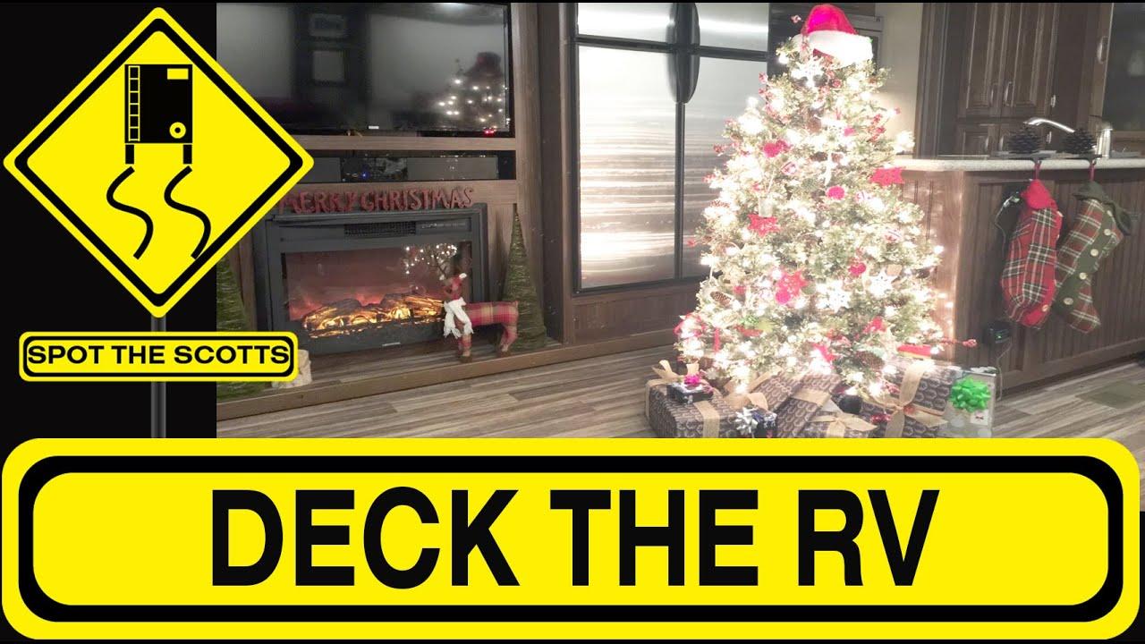 SpotTheScotts: Christmas Decorating Our Montana Fifth Wheel RV! RV ...
