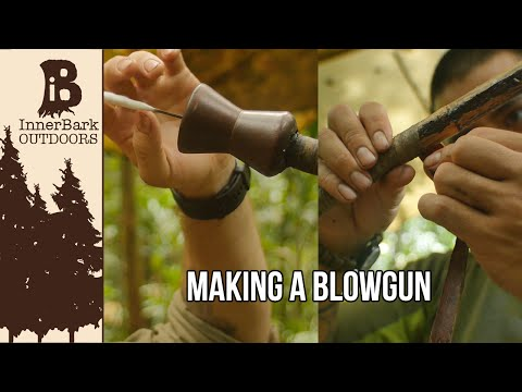 Making A Blowgun: Life In The Amazon Jungle
