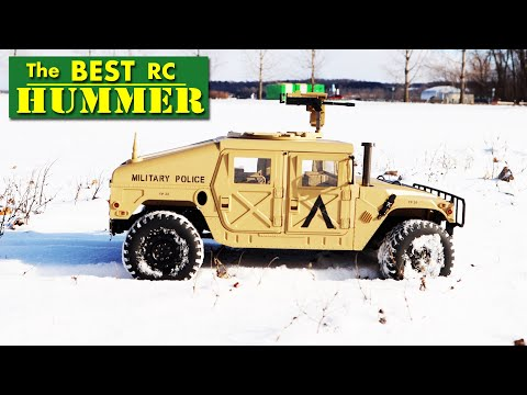 Is This The BEST Military RC Hummer Money Can Buy?   HG P408 - Review