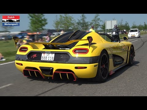 Cars Leaving Supercar Sunday 2018! - LaFerrari, Agera RS ML, Huracan Performante, F12 N-Largo S,...