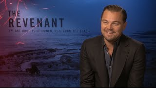 Leonardo DiCaprio talks The Revenant, Oscar nominations and that moment with Lady Gaga