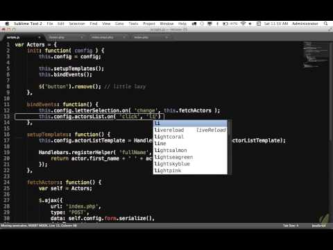 [6-AJAX] - 26 PHP and jQuery Part 2