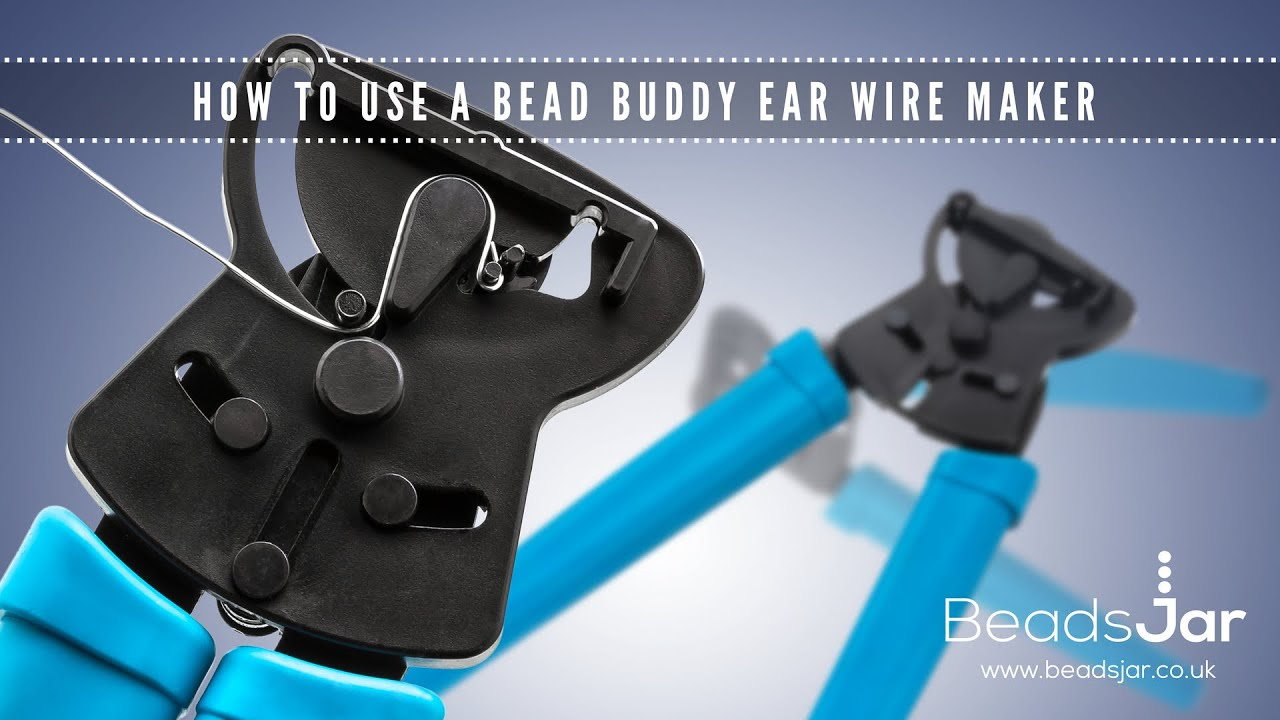 How to use a Bead Buddy ear wire maker - YouTube