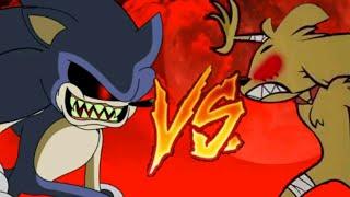 Sonic.exe vs mikecrack.exe